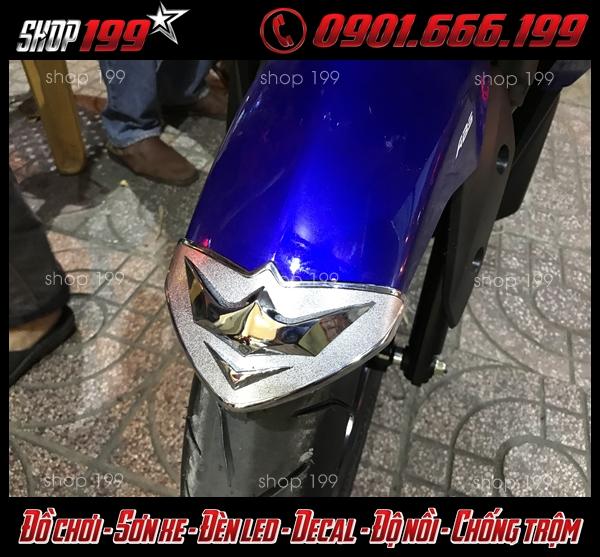 Hình ảnh: Đồ xi inox dành cho xe NVX 155 125 giá rẻ ở HCM.
