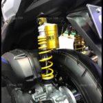 Phuộc Ohlins chính hãng màu vàng độ đẹp và sang dành cho xe NVX 155